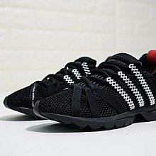 D-BOX  Adidas Consortium Adistar Comp AD 太空慢跑鞋 輕盈 黑紅銀