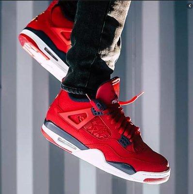Air Jordan 4 Retro SE 中國紅 時尚 短筒 籃球鞋 CI1184-617 男鞋