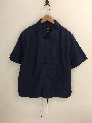 ☆LimeLight☆ Stussy Neilson Coach Jacket 襯衫外套 黑色/芥末黃 XS S M