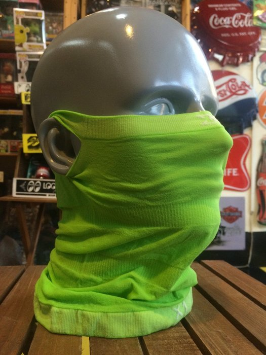 (I LOVE樂多)Naroo Mask螢光綠長版X1騎行運動 可直接飲水 面罩 單車 哈雷 越野 滑胎 Cafe