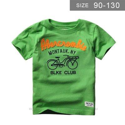 歐美男童短袖T恤。ROUROU童裝。夏男童中小童95%棉刺繡字母短袖T恤 0121-401