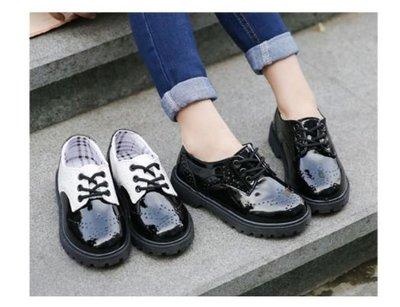 現貨新款英倫風男童舒適皮鞋花童鞋表演男童皮鞋百搭皮鞋21-37號