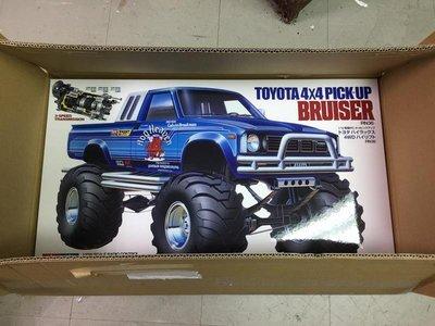 【DR.RC】原廠全新未拆 田宮 Tamiya Toyota 4X4 PICK-UP Bruiser 山豬 #58519