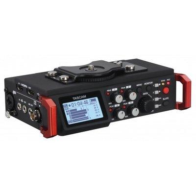 TASCAM DR-701D 單眼用錄音機  ( TASDR-701D ) (攜帶型)  6軌 收音 錄影 採訪 公司貨