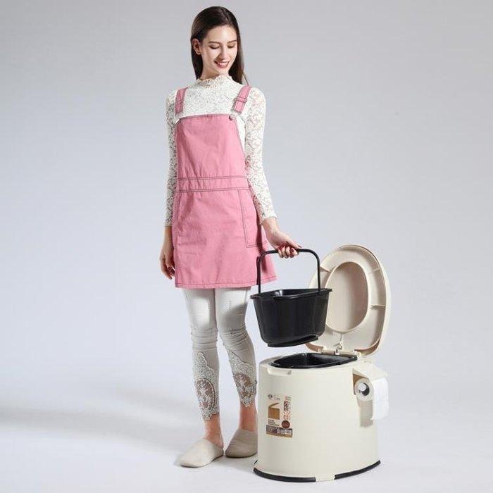 移動馬桶 老人坐便器孕婦移動馬桶老年人坐便椅成人便攜家用塑料座便器防臭 IGO
