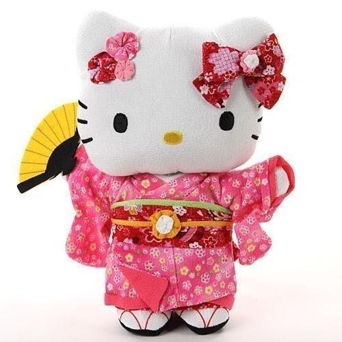 和服kitty偶--日本進口和服kitty人形偶擺飾--秘密花園