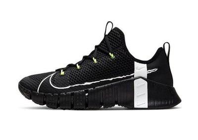 南◇2020 6月Nike Free Metcon 3 Black 鋸齒 男鞋 黑白 運動 訓練鞋 CJ0861-007