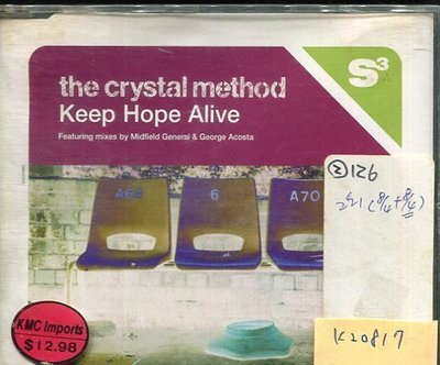 *真音樂* THE CRYSTAL METHOD / KEEP HOPE ALIVE 二手 K20817