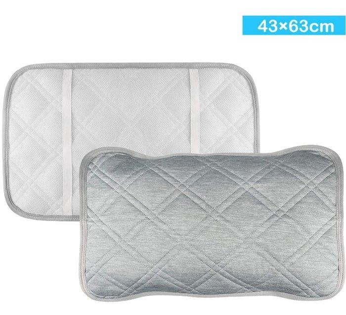 《FOS》日本 熱銷 涼感 枕頭套 (2入組)  接觸冷感 保潔墊 枕套 涼爽 枕頭墊 冰涼墊 夏天 消暑 熱銷 新款