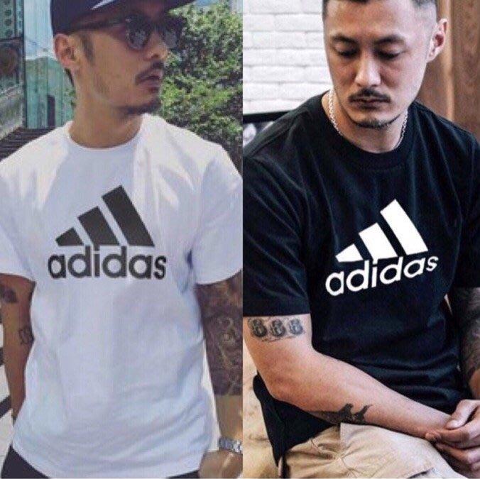 Adidas 愛迪達夏季超爽速乾T恤 透氣潮流款 運動休閒T男