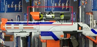 NERF 限量迷彩狙擊鏡 (彈夾 迅火 強襲 冰藍 殲滅 龍蝦 子彈 水彈槍 GOBID)