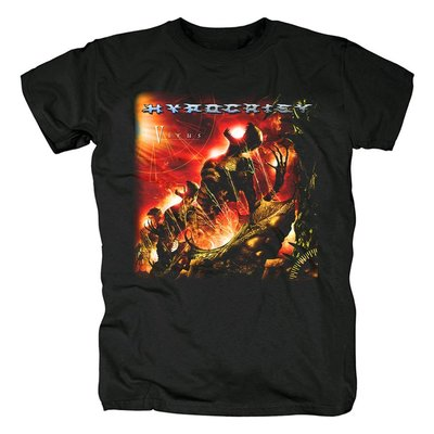 Hypocrisy瑞典樂隊死亡黑色金屬死金黑金核金屬朋克搖滾紀念T恤