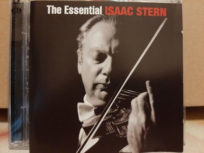 The Essential Isaac Stern,艾薩克·史坦-世紀典藏,2CD,如新。