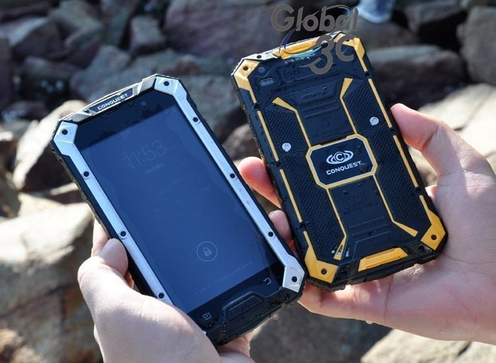 Conquest 4G LTE雙卡版 IP68防護等級 三防機 安卓5.1 繁中 四核1.5G S6 NFC