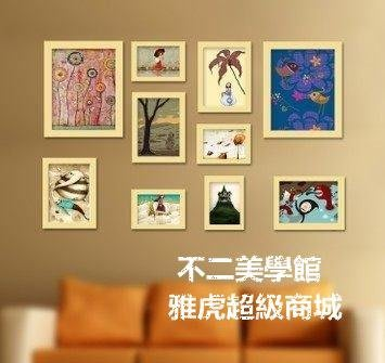 【格倫雅】^實木照片墻 適合小墻面相框墻 相片墻 組合相框 g-l-y4226565[g-l-y9