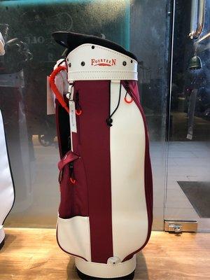 日本Fourteen 高爾夫球桿袋 (現貨紅、藍、黑、綠)特賣6800含運