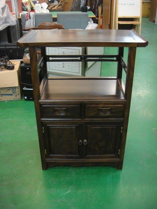 台中原木傢俱賣場 LG-CJC全新雞翅木電話櫃 實木電話架 藝品櫃 高低收納櫃*花架 展示櫃 電視櫃 書櫃