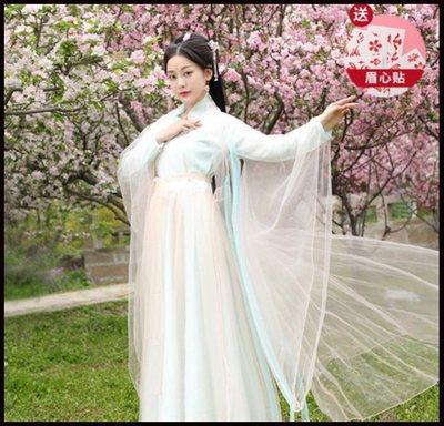 ~~Miss Goddess~~影視古裝楊冪三生三世白淺素素同款古裝清新日常漢服仙女服演出服