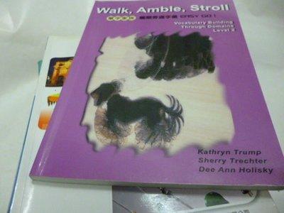 買滿500免運--崇倫=《WALK,AMBLE,STROLL單字家族2(紫)》ISBN:986749752X│文鶴