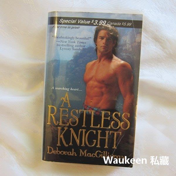 躁動的騎士 A Restless Knight 黛博拉 Deborah MacGillivray 中世紀 蘇格蘭 羅曼史