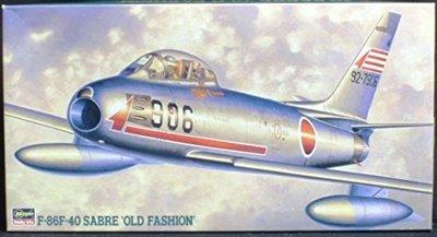 HASEGAWA 1/48 PT115 F-86F-40 SABRE OLD FASHION  (07075) 盒損