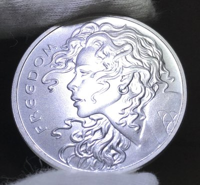 2020 Freedom Girl 自由女孩銀幣 (1 toz)