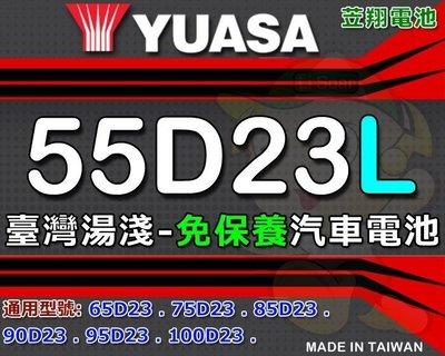 ☎ 挺苙電池 ►RAV4 馬自達 CX-7 TOYATA COROLLA  冠美麗 湯淺汽車電瓶 55D23L CMF