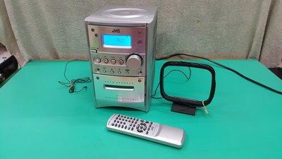 JVC 微型擴大機+搖控器 電台 AUX 非mp3 sony usb jl motel ponasonic