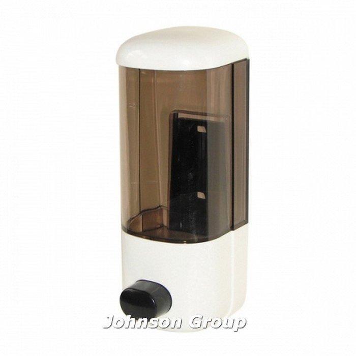 香港商莊臣-SD0028A手按給皂機600ml(透明棕)-滴狀