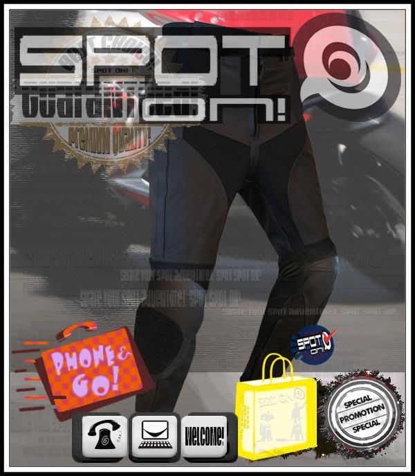 Spot ON - EU11 牛皮款防摔褲可拆硬式護具-可加置滑行塊! SHARK THH HRC MSR AXO 戰將
