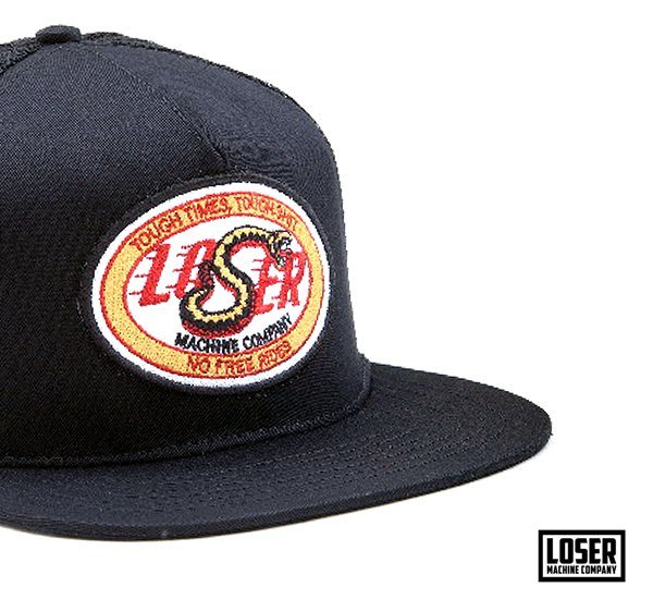 GOODFORIT / 美國品牌Loser Machine Hamilton Snapback毒蛇賽道貼布帽款