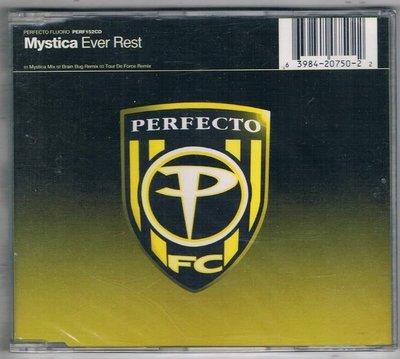 [鑫隆音樂]西洋單曲-Mystica Ever Rest /PERFECTO {639842075022} 全新