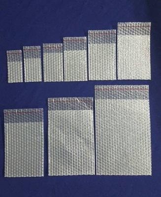 【Jason包裝網】8號 自黏氣泡袋(A三)L240*W170mm*100pcs/照夾鏈袋尺寸/緩衝包材/泡泡袋/保護袋