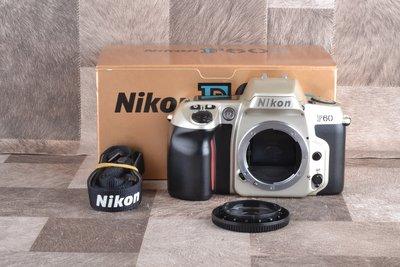 【品光攝影】Nikon F60 自動對焦 底片機  單眼 底片相機 GG#65451