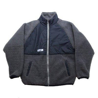 【 PUNX 】PUNX 19AW SPLICE CHORE COAT 寬版絨布拼接異材質外套