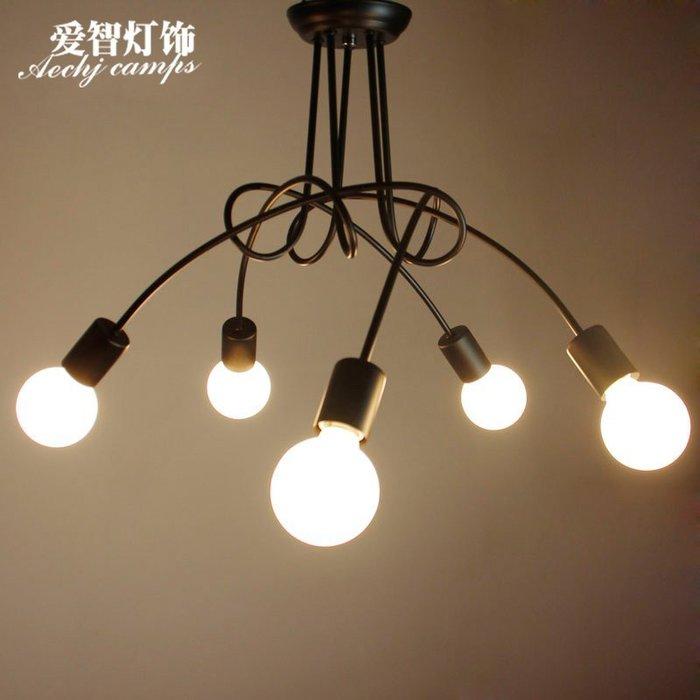 美式鄉村田園客廳韓式餐廳書房臥室燈具現代簡約吸頂燈【6-679源家精品】