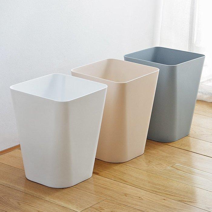 垃圾桶 垃圾袋 家用 廚房 全場滿千減百 大號無蓋垃圾桶 衛生間廁所垃圾簍家用廚房客廳臥室創意塑料紙簍