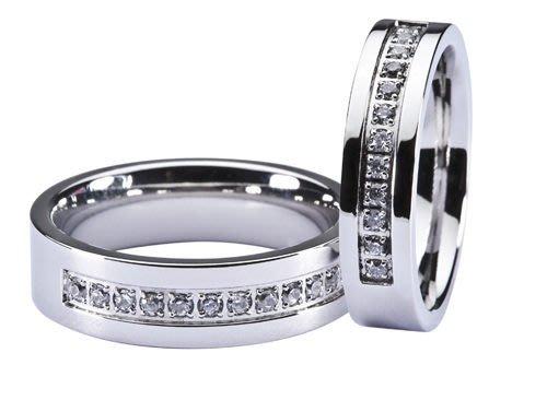 金永珍時尚珠寶* d2 白鋼珠寶 情人節 對戒【愛誓約】*