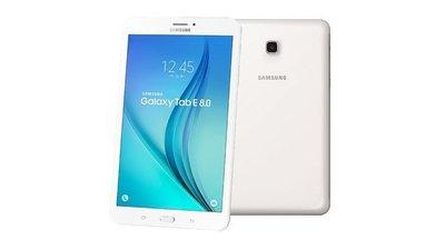 全新未拆 三星 平板 Samsung Tab E 8.0 LTE 1.5G RAM+16GB 白 可搭門號新辦續約跳槽