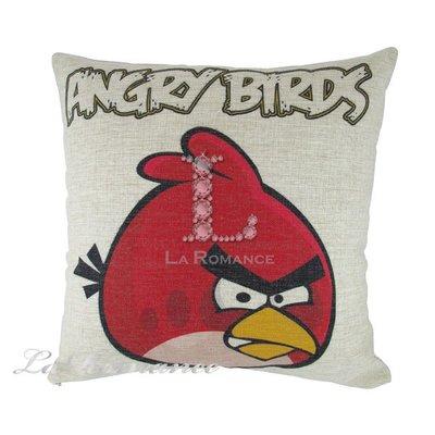 【芮洛蔓 La Romance】COCORO 兒童抱枕 – 憤怒鳥 Angry Bird / 靠枕 / 靠墊