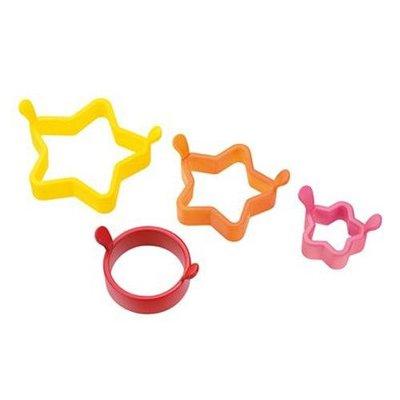 星星鬆餅模型組~~大中小模組做出各式大小的鬆餅堆疊~可愛至極!