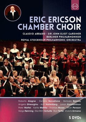 【DVD】艾瑞克森室內合唱團 5DVD Eric Ericson Chamber Choir---8024250548