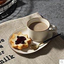 【優上】米立風物 日式萬古燒杯子 陶瓷咖啡杯 早餐杯奶杯「B矮杯配圓碟咖啡杯碟一組」