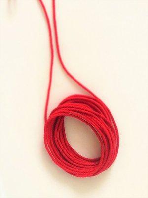寶月光~紅棉繩 / 1公尺 / 5元