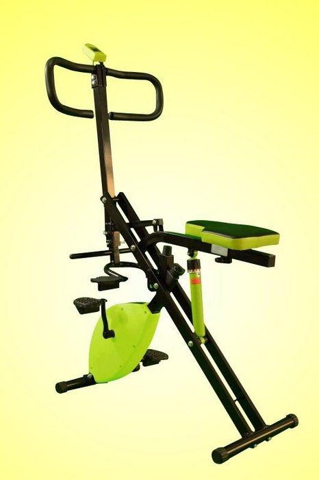【Fitek 健身網】健身車☆全身運動炫腹健身車☆手部、腿部、腹肌、腰部運動☆折疊式磁控健身車☆多功能健身車☆