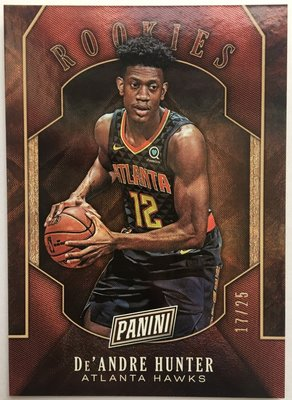 2019-20 PANINI BLACK FRIDAY DE'ANDRE HUNTER /25 RC 新人卡 官網特別版