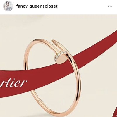 卡地亞 Cartier 半鑽 手鐲 手環