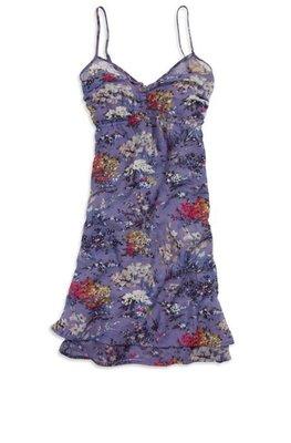 Debbies World 『American Eagle 紫色碎花洋裝』