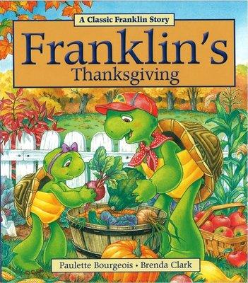 *小貝比的家*FRANKLIN'S THANKSGIVING/平裝/3~6歲/ 感恩節