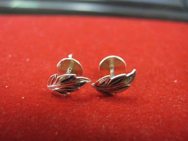 二手舖 NO.1341 純銀925 造型耳環